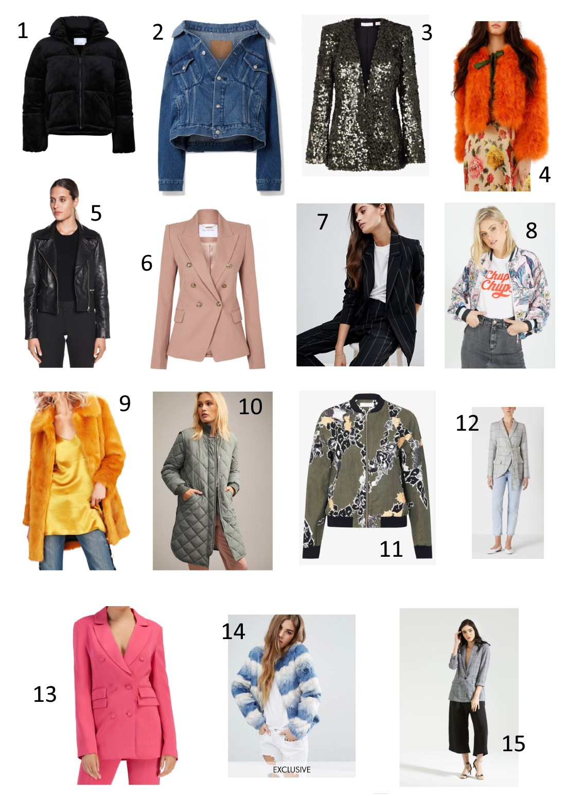 top 15 jackets with fiona and mel